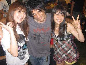 May'n, Steve Conte and Megumi Nakajima (photo: Steve Conte)